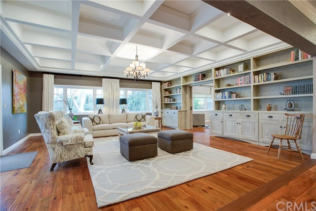 spacious and elegant greatroom at 2642 e vanderhoof drive