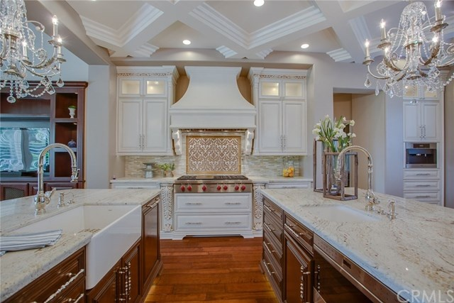 absolutely stunning gourmet kitchen, angle 2
