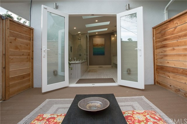 private zen retreat off the bathroom at 2642 e vanderhoof drive